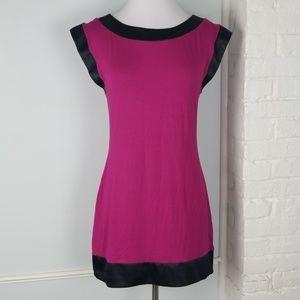 NWT Express satin trim dress